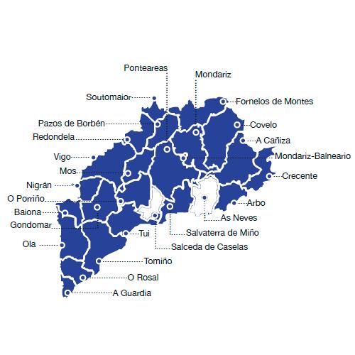 Salceda De Caselas Mapa.Agat Asociacion Galega De Atencion Tempera Atencion